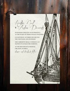 pirate themed wedding invitations pirate themed wedding invites with the right paper and pri with mermaid wedding invitations