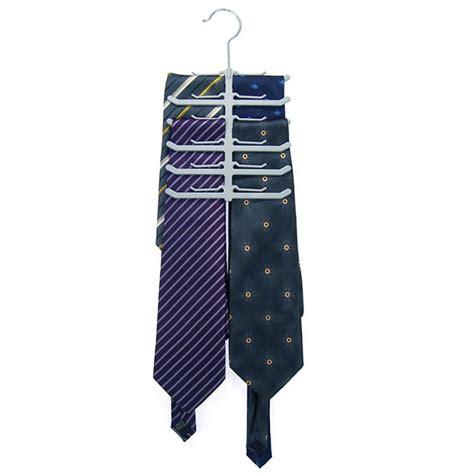 Tie Rack Scarf by Fishbone Necktie Tie Belt Hanger Rack Shawl Scarf Clip