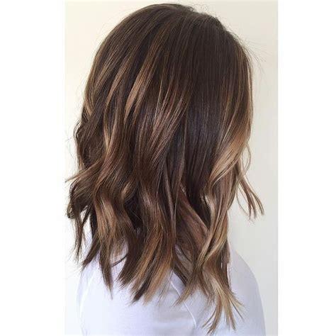 25 Best Ideas About Shoulder Length Balayage On Pinterest | gallery brown balayage medium length hair women black