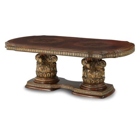 Rectangular Dining Tables Villa Valencia Rectangular Dining Table By Michael Amini Dining Tables 72002 55 8