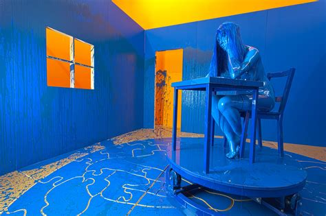 the blue room richard jackson