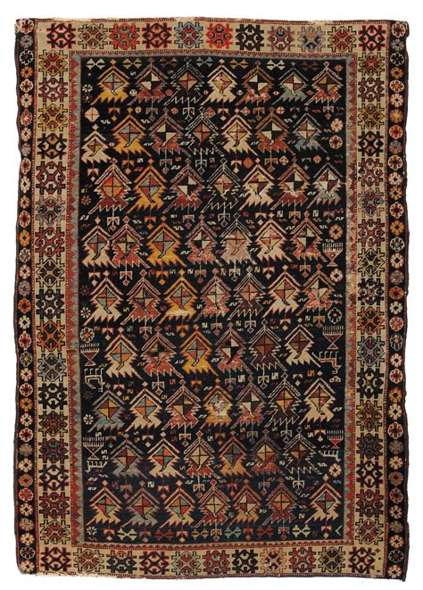 tappeto caucasico tappeto caucasico shirvan xix secolo tapis anciens