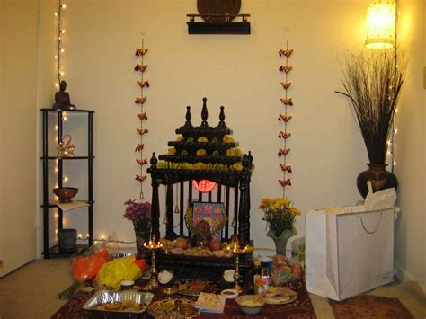 decoration of pooja room at home puja room design home mandir ls doors vastu idols