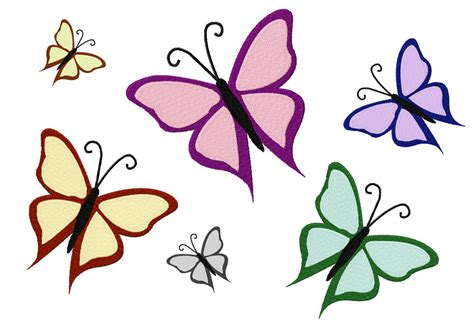 design free free machine embroidery butterfly design free embroidery designs cliparts co