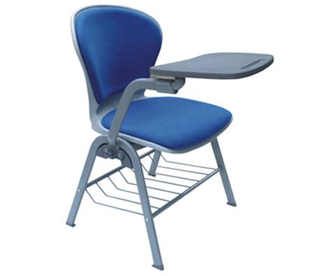 Lightweight School Chair With Folding Tablet Soft Seat Folding Student Desk Chair