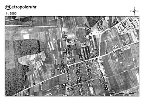 historisches kartenmaterial rvr zeigt wie sich die als die city noch acker war rvr luftbilder zeigen