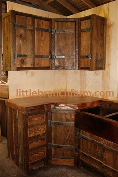 rustic kitchen cabinet doors 25 great ideas about barn wood cabinets on pinterest