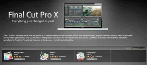 final cut pro cost new final cut pro x is live price and video overview