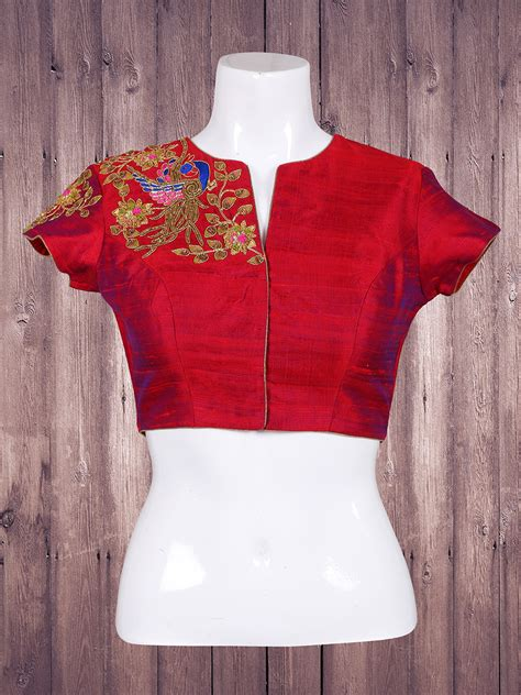 Blouse Maroon maroon silk ready made blouse g3 rb0498 g3fashion