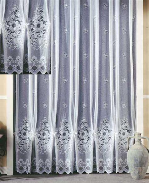 vorhänge 145 hoch blumen jacquard store fertig gardine 145x450 ebay