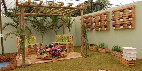 decoracion palets jardin ideas para decorar con palets blogdecoraciones
