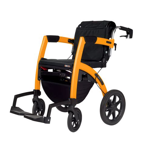 100 bariatric transport chair rollator hybridlx