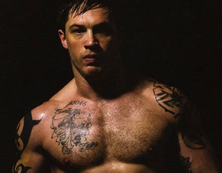 tom hardy tribal tattoo tom hardy a exle of tattoos tattoomagz