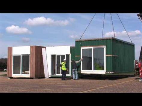 prefab home installation in uk youtube