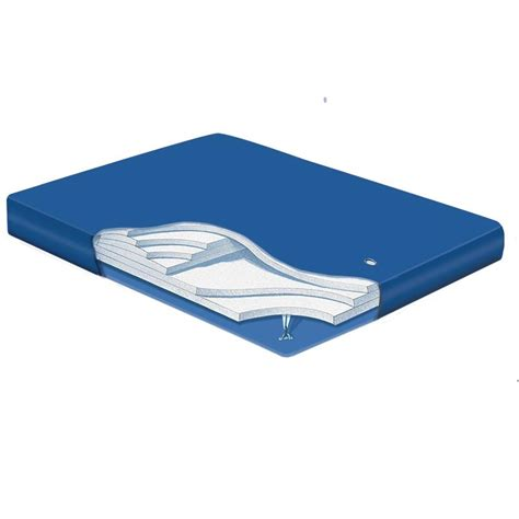 Hardside Waterbed Mattress Pad Mid Fill Waterbed Bladder Replacement Waterbed Bladder