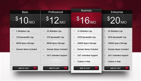 download 30 free pricing table templates design css3 psd wp download 30 free pricing table templates design css3