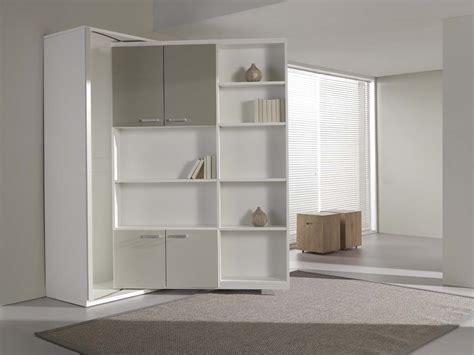 biblioth 232 que lit pivotante studio avec couchage 140cm