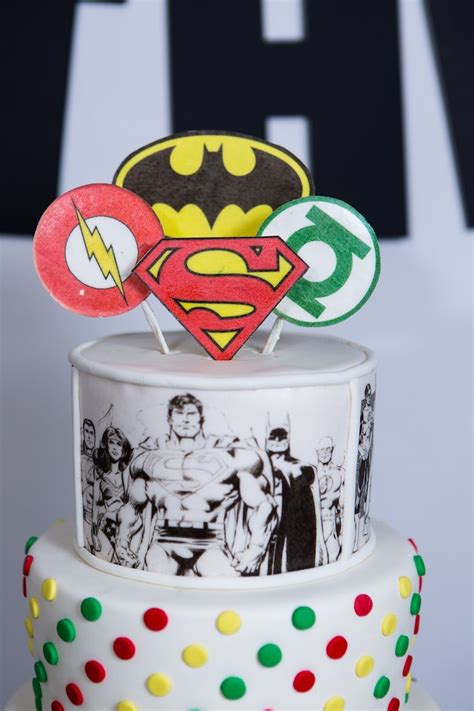 Kara s party ideas modern justice league birthday party kara s party ideas