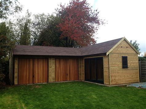 l shaped garages winchester l shaped timber garage range garden retreat