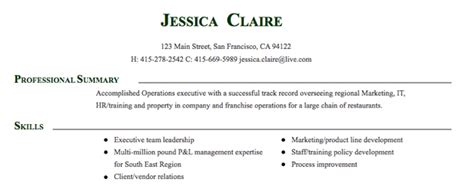 Executive Resume Layout by Executive Resume Layout Www Nmdnconference Exle