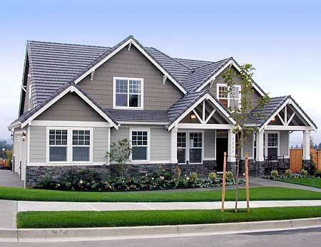 Photo Gallery House Plans by Plan W6912am Country Craftsman Northwest Corner Lot