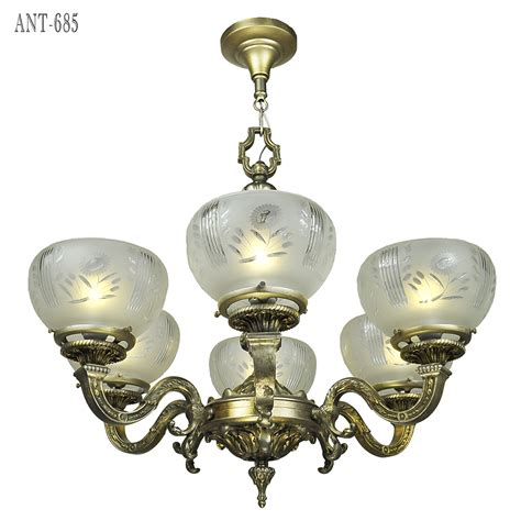 Antique 1920 Ceiling Light Fixtures Antique Chandelier 6 Arm Ceiling Light Fixture Circa 1920 Ant 685 For Sale Antiques