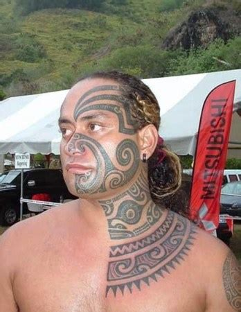 polynesian face tattoo designs 20 traditional designs and meanings