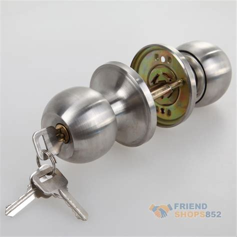 Door Knob With Deadbolt Built In by Stainless Steel Door Knobs Handle Entrance Combo