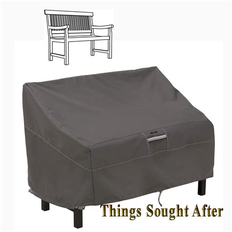 storage bench covers cover for patio bench outdoor furniture storage patio deck