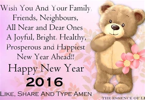 wishing you and your family a wonderful new year 2016