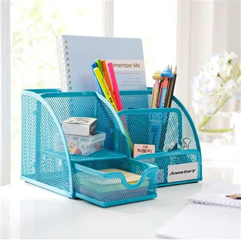 Office Supplies Desk Organizers 35 Desktop Organizer Annstory Mesh Office School Supplies Desk Organizer Caddy W Drawer
