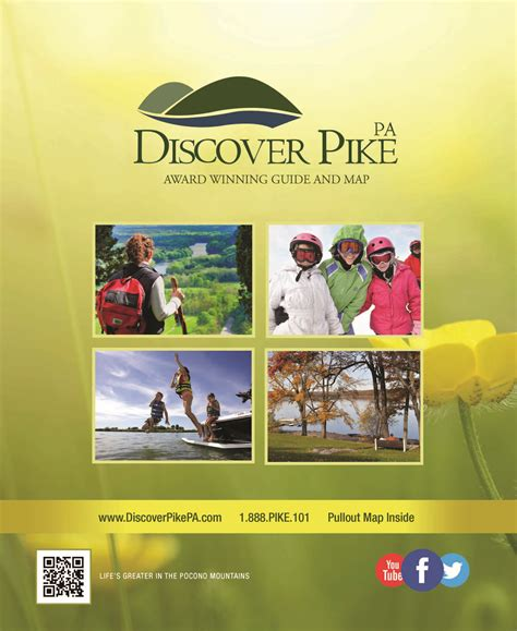 discover pike pa 2015 2016 visitors guide map