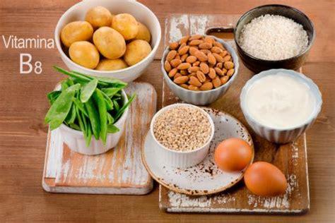 alimenti con biotina vitamina b8 vitamina h o biotina funciones y