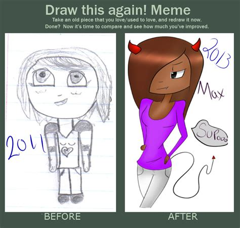 Meme After Dark - before and after meme max by thebluequeen16 on deviantart