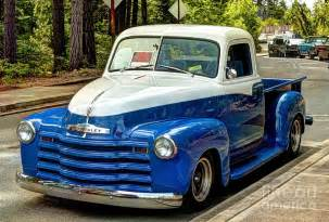 1951 chevy truck photograph by chris
