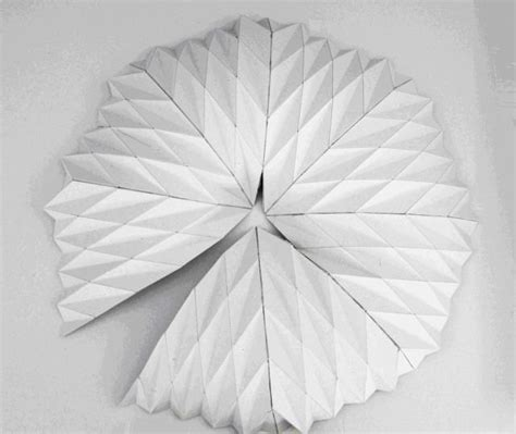 origami tutorial hexagonal hat tent 17 best images about origami tessellation on pinterest