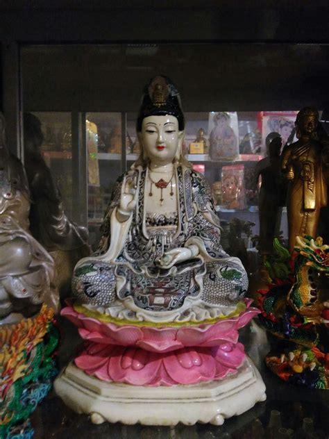 Pajangan Patung Dewi Kwan Im Patung Dewi Kwan Im Lq 344 W T1310 jual patung dewi kwan im keramik 3 dhammamanggala