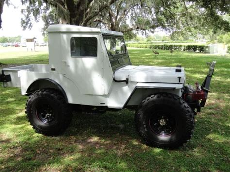 jeep willys lifted 1950 jeep willy s cj3a 4x4 one of a lifted 35s auto