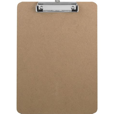 Home Furniture Decoration by Sparco Flat Clip Rubber Grip Hardboard Clipboard