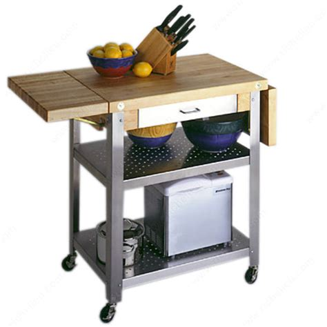 kitchen butchers block trolley butcher block trolley richelieu hardware