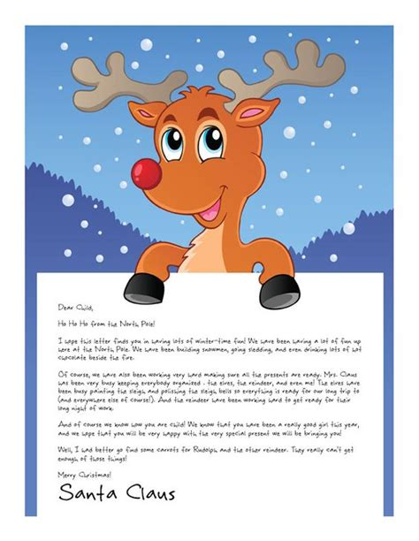 printable joke letters easy free letter from santa magical package texts