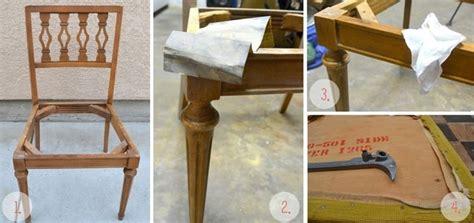 imbottire una sedia come restaurare una sedia manutenzione consigli per il