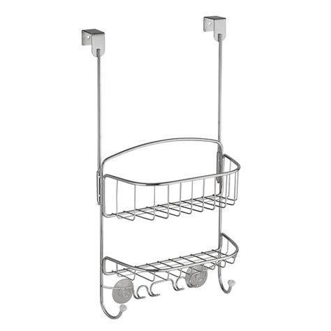 Shop Interdesign 12 In H Over The Door Steel Hanging Door Shower Rack