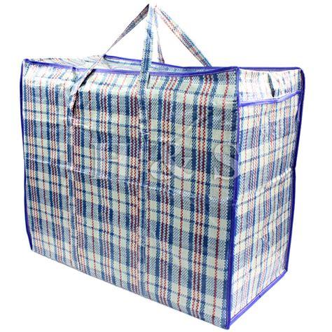 Blouse Jumbo 30 top quality strong reusable large jumbo shopping laundry storage luggage bag zip eur 2 26