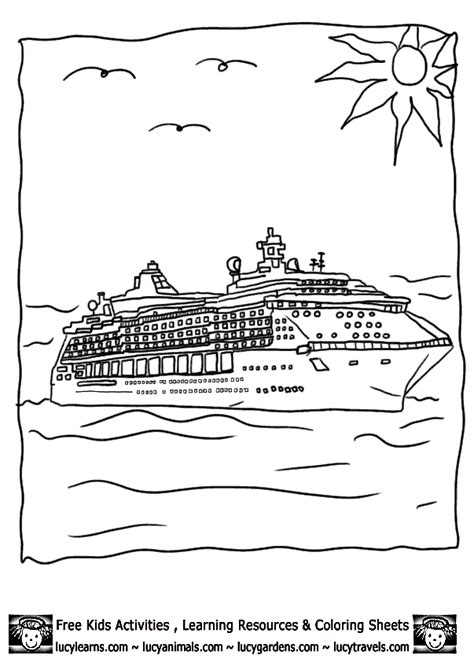 Disney Cruise Coloring Pages Only Coloring Pagesonly Disney Cruise Coloring Pages