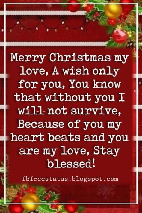 christmas messages  boyfriend christmas messages quotes christmas card sayings message