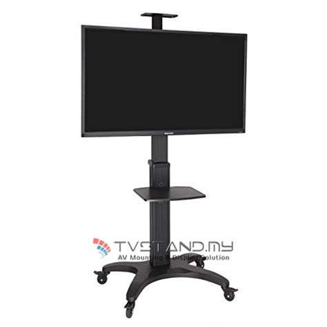 Movable Tv Stand by Portable Aluminum Tv Stand Led Lcd Plasma Mount Upto