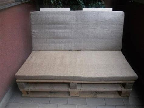 instructions for pallet couch diy outdoor pallet sofa instructions