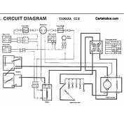 Yamaha Golf Cart Battery Wiring  Diagram With