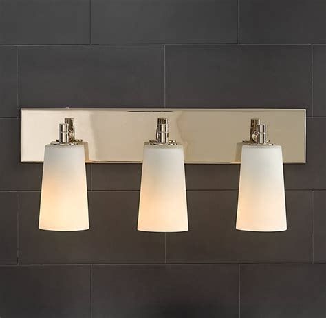 Restoration Hardware Bathroom Fixtures Restoration Hardware Spritz Sconce Bathroom Vanity Light Light Fixtures Pinterest